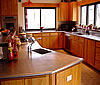 custom designed zinc, copper, and stainless kitchen counter tops and sinks